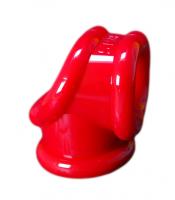 Erekční kroužek a natahovač varlat Oxballs Cocksling červený