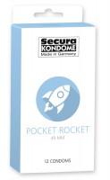Kondomy Secura Pocket Rocket 12 ks