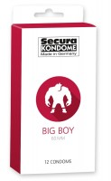 Kondomy Secura Big Boy 12 ks