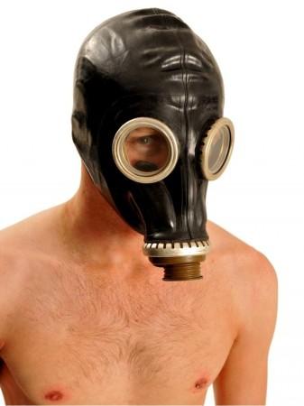 Ruská plynová maska černá