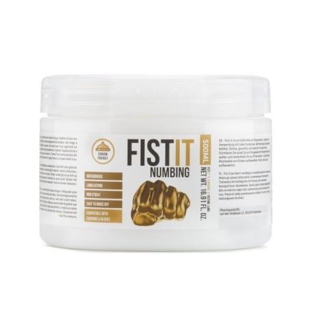 Znecitlivující lubrikant Fist-It Numbing 500 ml