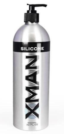 Silikonový lubrikační gel Xman 950 ml