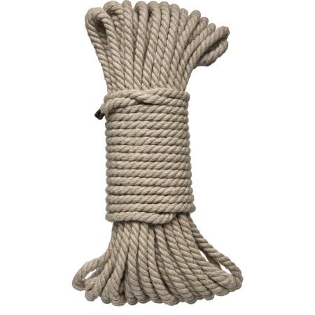 Konopné bondage lano Doc Johnson Kink 15,2 m