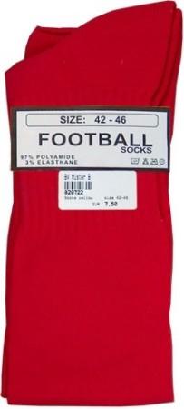 Fotbalové ponožky Mister B červené