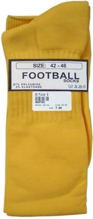 Fotbalové ponožky Mister B žluté