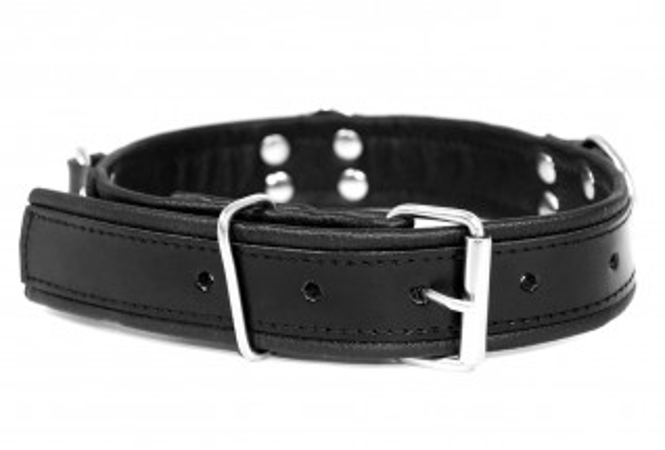 Kožený obojek Slave4master Basic Collar